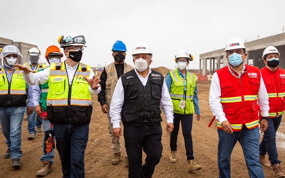 Minister of Transport and Communications supervised the progress of the Expansion Project